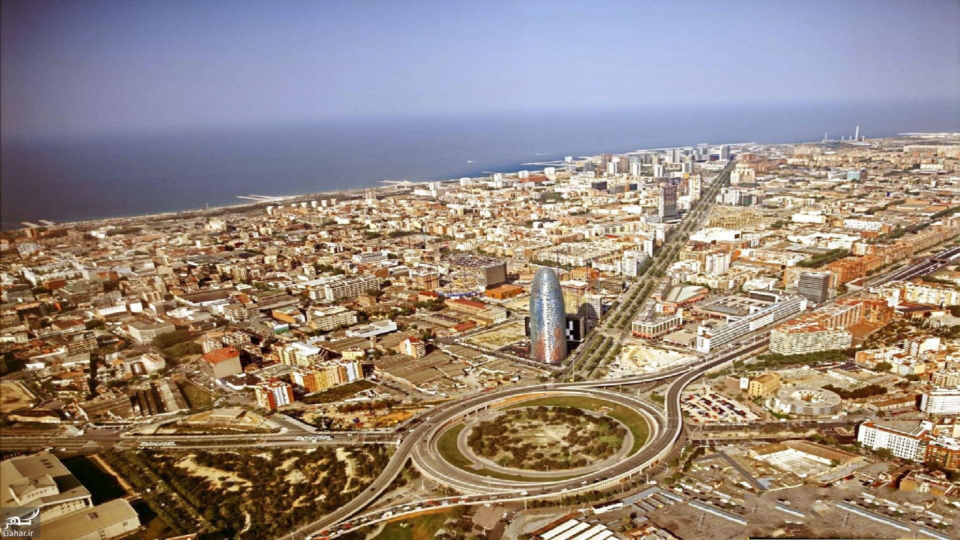 جاذبه های گردشگری شهر بارسلون اسپانیا, جدید 1400 -گهر