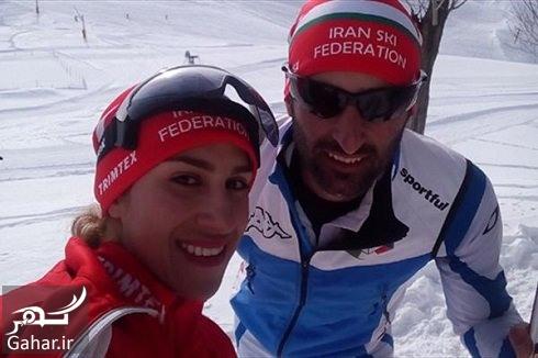 ملی پوش اسکی ایران یاسین شمشکی و همسرش به کشور سوئد پناهنده شدند, جدید 1400 -گهر