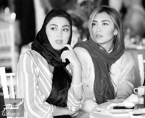 عکس: مانتوی مشترک مریم معصومی و خواهرش سوژه کاربران شد!, جدید 1400 -گهر