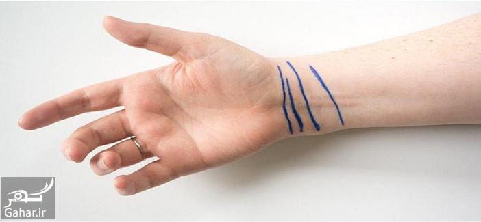 1 2 معنای جالب خطوط روی مچ دست