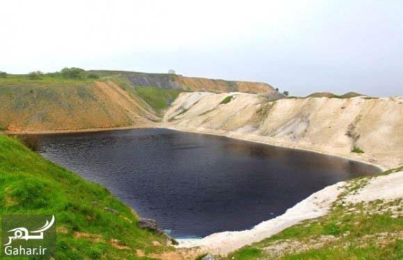 14500 با دریاچه مربع آبی سمی ترین دریاچه جهان بیشتر آشنا شوید