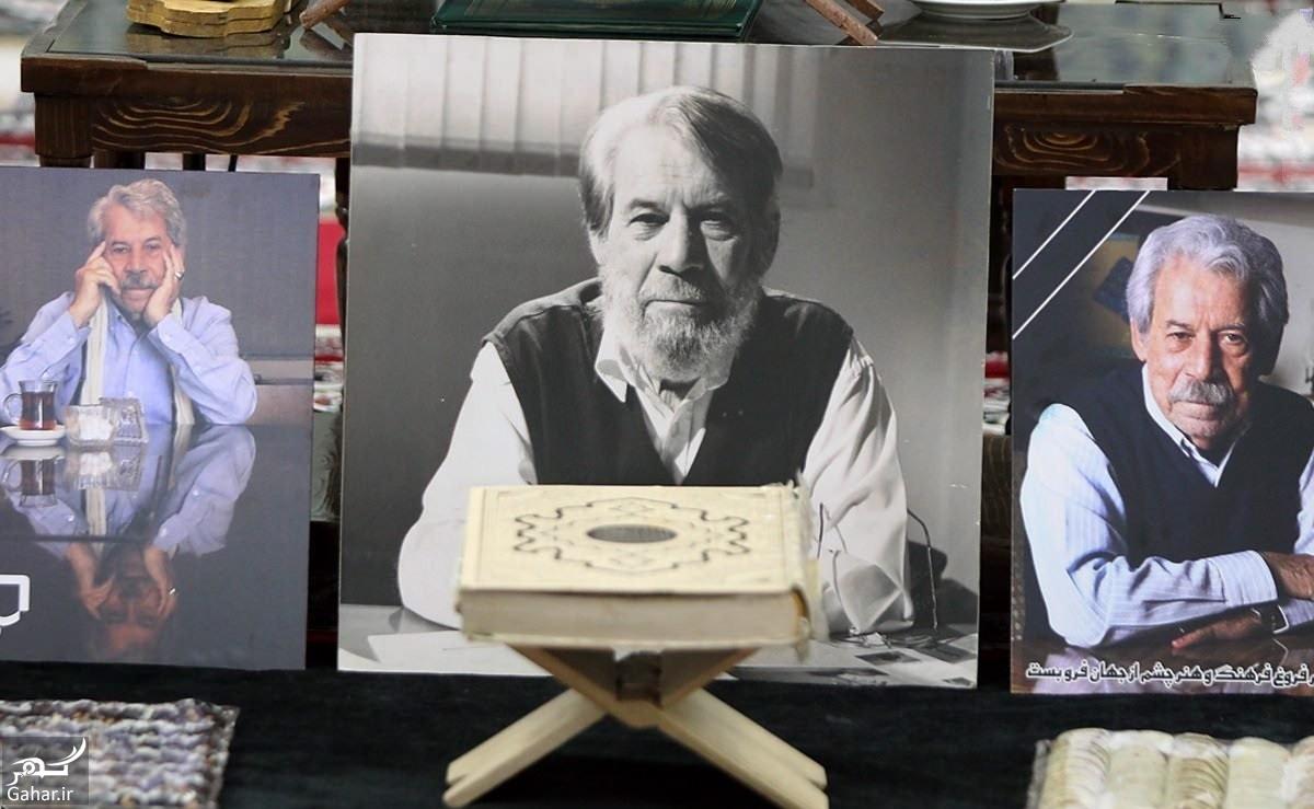 عکس های مراسم چهلم داوود رشیدی با حضور بازیگران و هنرمندان (۵۳ عکس), جدید 1400 -گهر