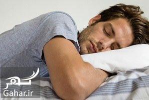 2sleeping man مردانی که کمتر از 7 ساعت می خوابند نازا می شوند