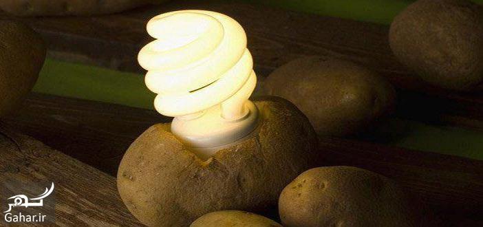 4 6 تولید برق از سیب زمینی !