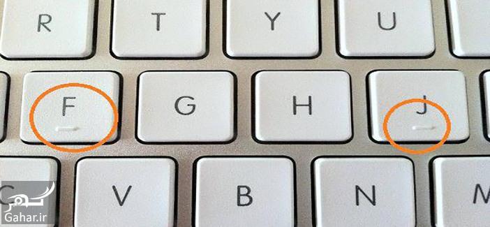 8 دلیل وجود نقاط برجسته روی کلید J و F کیبورد چیست؟