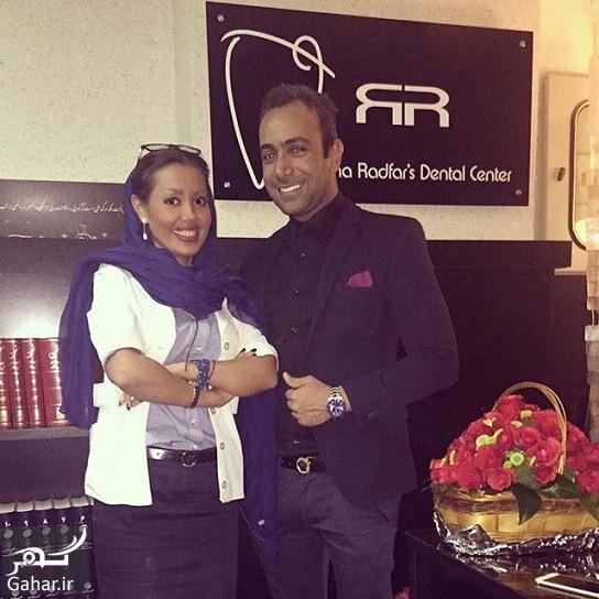 Dr Radfar NasimFun دندانپزشکی که همه بازیگران و افراد مشهور مشتری اش هستند + آدرس و شماره تلفن مطب