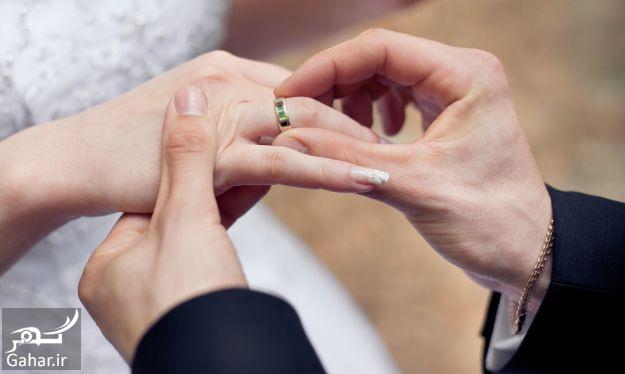 Married couple ring exchange1 اصول انتخاب همسر مناسب برای خوشبختی