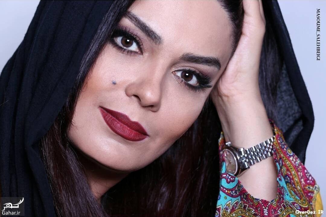 Sara Khoiniha Mehr95 www OverDoz IR 4 عکس های آتلیه ای سارا خوئینی ها به عنوان مدل آرایش