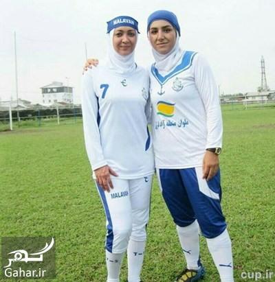 عکس جدید نیکی کریمی با لباس تیم فوتبال بانوان ملوان, جدید 1400 -گهر