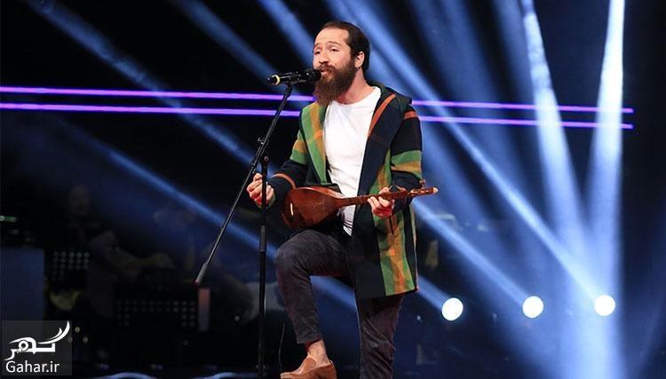 mosabeghe خواننده ایرانی در مسابقه O Ses با آهنگ فارسی همه را حیرت زده کرد+ صوت