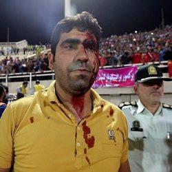 عکسهای درگیری خونین بین تماشاگران پرسپولیس و استقلال خوزستان