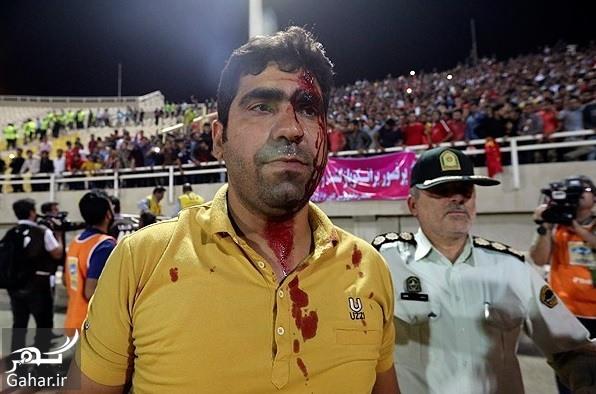 perspolis esteghlal havashi عکسهای درگیری خونین بین تماشاگران پرسپولیس و استقلال خوزستان