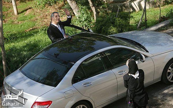 عکس ماشین لوکس مهران مدیری, جدید 1400 -گهر
