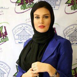 عکس بازیگر زن معروف و مربی بدنسازی اش