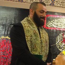 هدیه پهلوان عباس جدیدی به امیر تتلو ؛ عکس