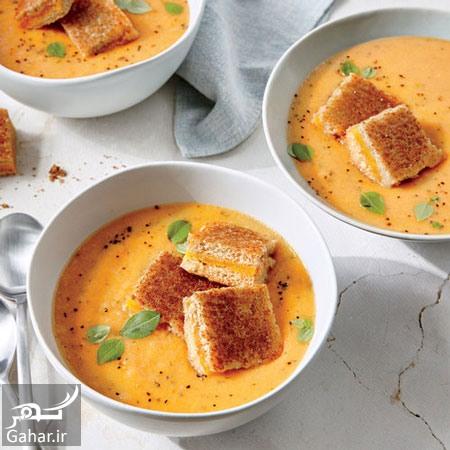 1049819 805 طرز تهیه سوپ گوجه فرنگی فوری