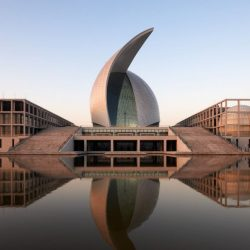 503629_the-maritime-museum-in-lingang-china-has-two-curved-roof-shells-in-the-shape-of-sails-over-the-exhibition-hall-it-is-large-enough-to-display-ships_1