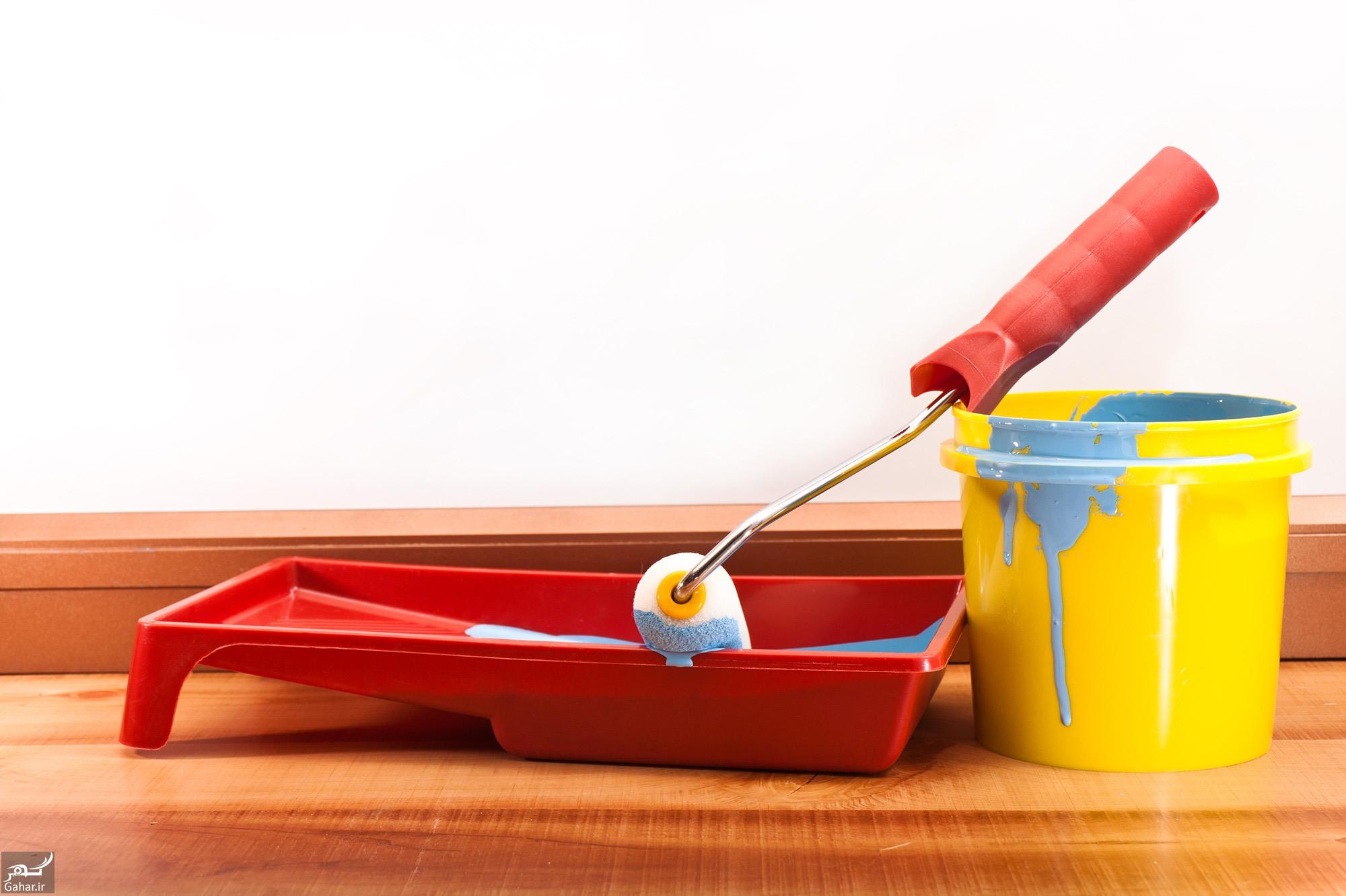 Acrylic Color 3 3  نکات مهمی در مورد رنگ آمیزی و نقاشی ساختمان