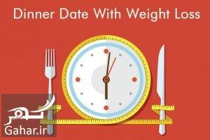 what time you eat dinner can decide how fast you lose weight بهترین زمان شام خوردن برای لاغری و کاهش وزن