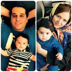 جدیدترین عکس همسر و فرزند حمید عسکری