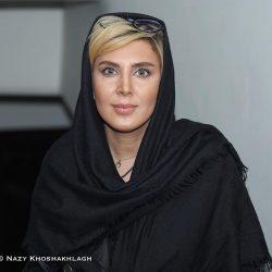 عکس استایل متفاوت لیلا بلوکات در کنسرت حجت اشرف زاده