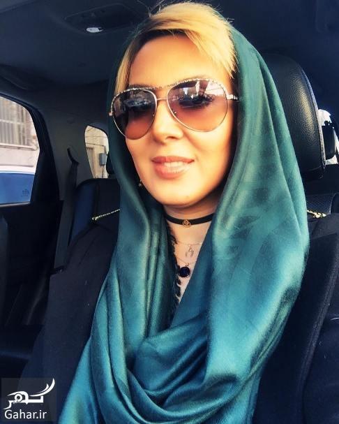عکس های سلفی لیلا بلوکات در ماشین شخصی اش, جدید 1400 -گهر