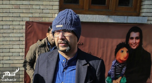mohammad bahrani donya جناب خان در مراسم کلاه قرمزی ؛ عکس