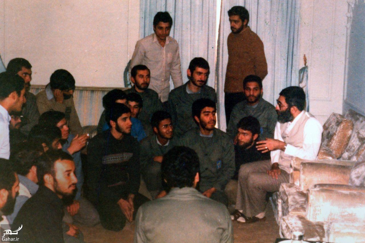 rahbar javani عکس رهبر انقلاب در دوران جوانی با لباس شخصی