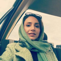 عکس های شبنم قلی خانی در برنامه زنده رود شبکه اصفهان