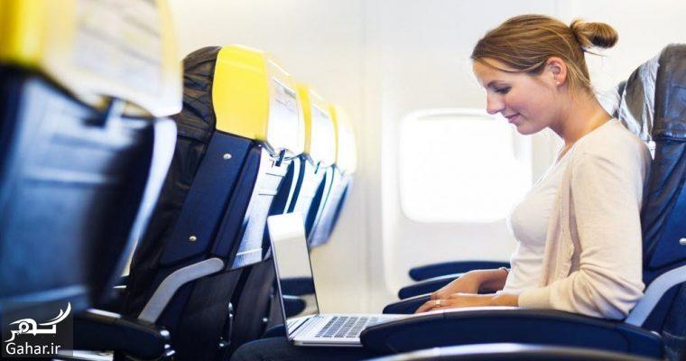 laptop airplane flight 760x400 آغاز تکنولوژی 4G(اینترنت نسل چهارم)در هواپیما