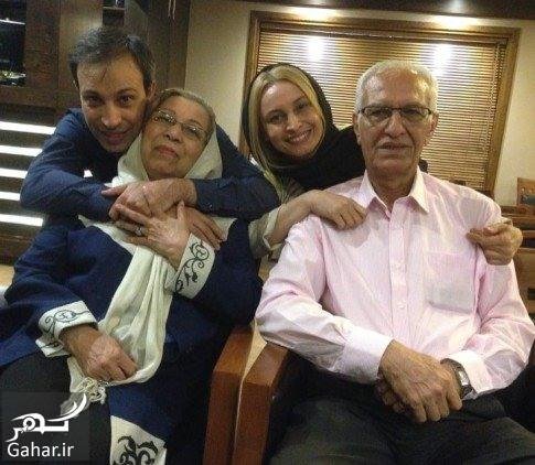 عکس جدید مریم کاویانی در کنار پدر و مادر و برادرش, جدید 1400 -گهر
