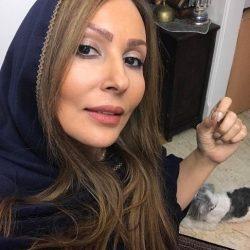 عکس جدید پرستو صالحی با رنگ موی جدید