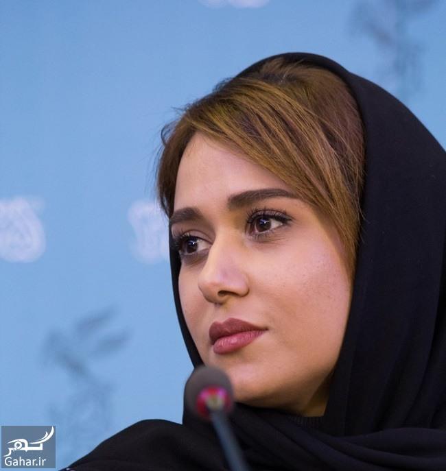 parinaz izadyar film عکسهای بازیگران فیلم تابستان داغ در نشست خبری   جشنواره فیلم فجر