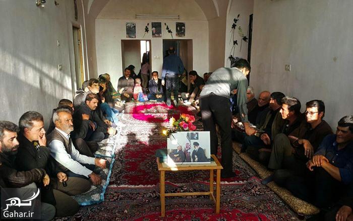 rafsanjan bahreman عزاداری مردم در خانه پدری آیت الله هاشمی در بهرمان ؛ عکس