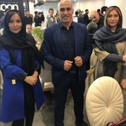 بازیگران خانم استقلالی در افتتاحیه رستوران منصوریان