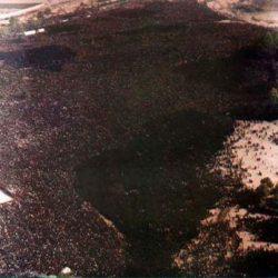بزرگترین مراسم تشییع که در گینس ثبت شد ؛ عکس