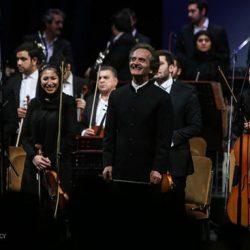 زمان برگزاری آخرین کنسرت ارکستر سمفونیک تهران