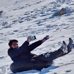 عکس های دیدنی مردم در برف زمستانی_لرستان