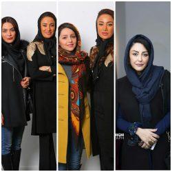 حضور بازیگران در افتتاحیه نمایشگاه بهاره افشاری + عکس