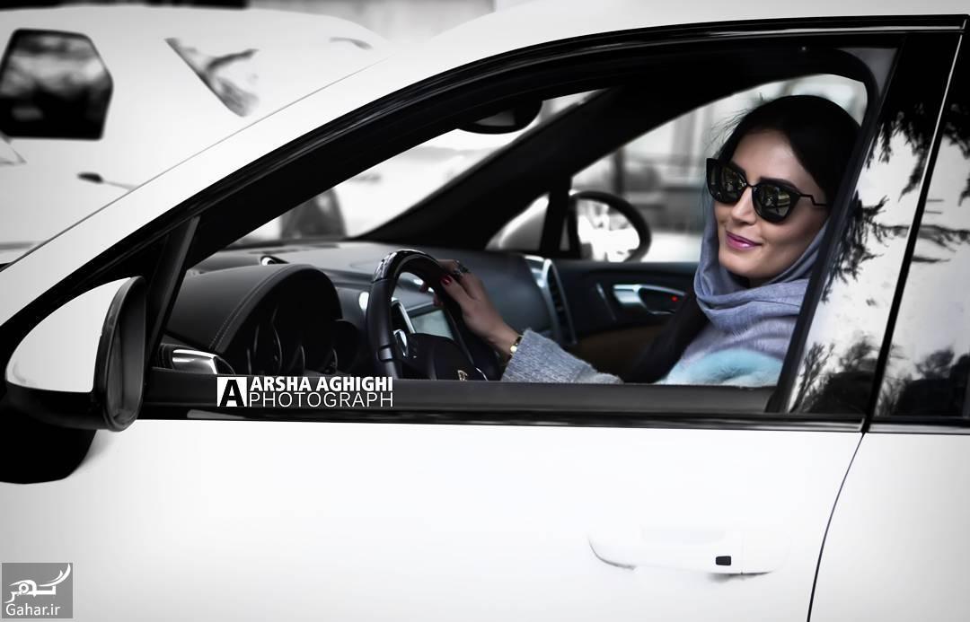 BQ8dPhnhx4F عکس جدید بازیگر معروف در ماشین شخصی اش