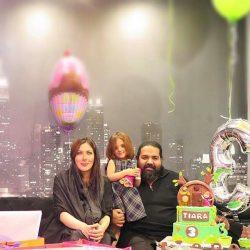 اینستاگردی / عکس های جشن تولد دختر رضا صادقی