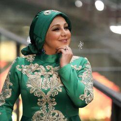 تیپ متفاوت بهنوش بختیاری در جشنواره فجر ۳۵ ؛ عکس