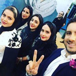 عکس دیدنی بازیگران در کنسرت امید حاجیلی