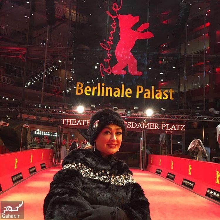 BQbJtBcFyP3 عکس جدید الهام حمیدی در جشنواره برلین