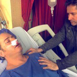 امیر تاجیک در بیمارستان بستری شد + جزئیات بیماری اش