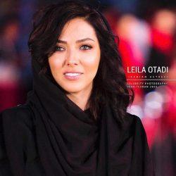 """تیپ لیلا اوتادی در اکران فیلم """"افسون گر""""+عکس"""