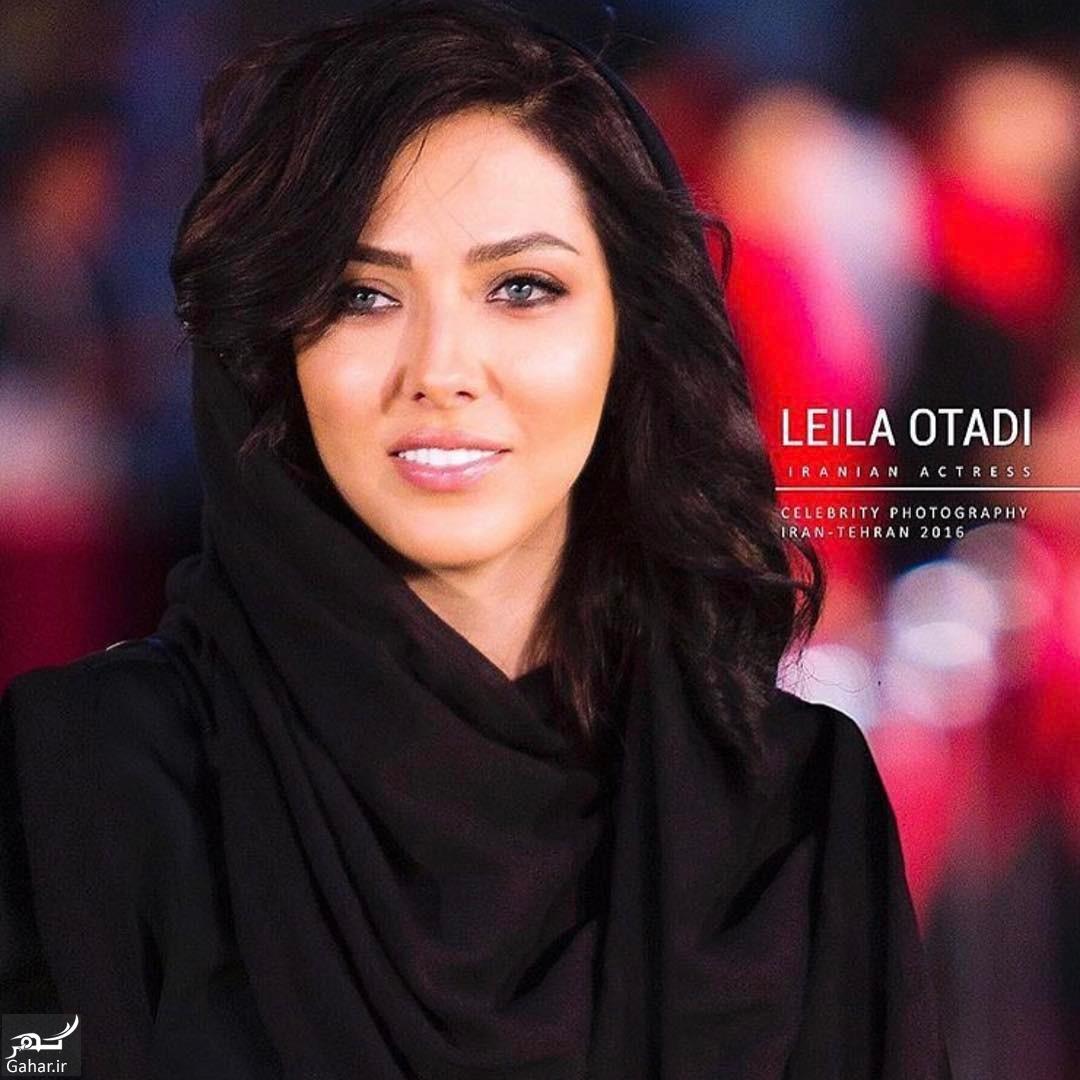 BQuzDe5AJOA تیپ لیلا اوتادی در اکران فیلم افسون گر+عکس