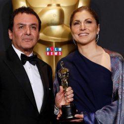 انوشه انصاری و فیروز نادری نمایندگان اصغر فرهادی در اسکار ۲۰۱۷