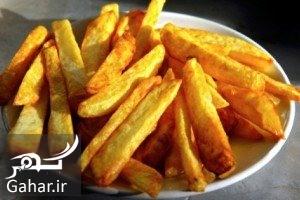 Baked French Fries عوارض سرخ کردن زیاد سیب زمینی
