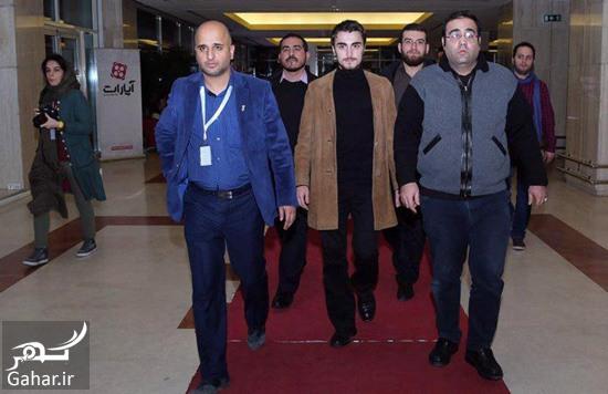 ahmad khomeyni عکس نوه یادگار امام در کاخ جشنواره فیلم فجر